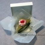 Walentynkowe, zielone ciasteczko