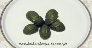zielone trufle z herbatą matcha