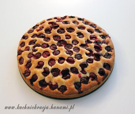 Placek z wiśniami z mąką z tapioki, Fot. Hanami®