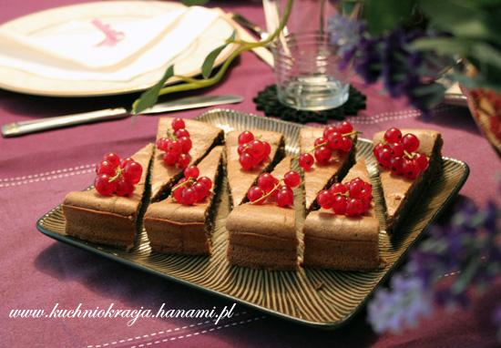 Ciasto z mąką z czarnego ryżu i mleczkiem kokosowym, Fot. Hanami®