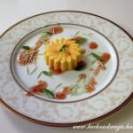 Lekki waniliowo-dyniowy deser z serkiem mascarpone