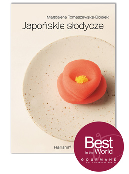 """""""Japońskie słodycze"""" nagroda Gourmand World Cookbook Awards"""