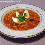 Sopa Criolla – zupa kreolska (kuchnia peruwiańska)