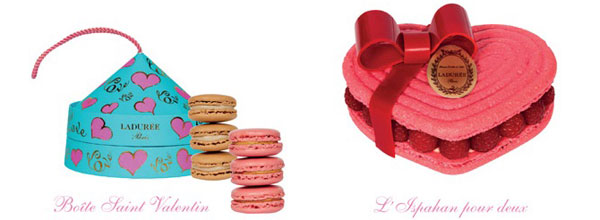 Walentynki - słodkie kreacje Ladurée
