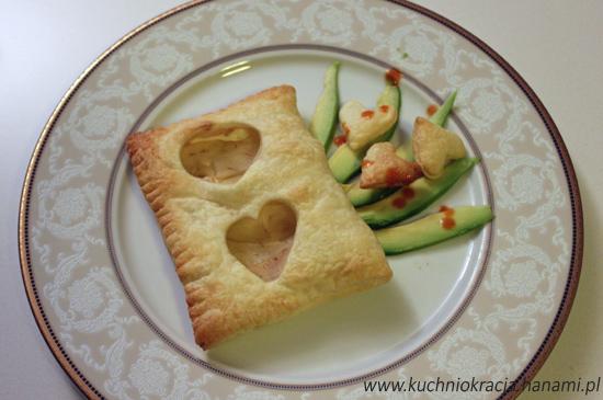 Ciasto francuskie z gruszką i kozim serem, Fot. Hanami®
