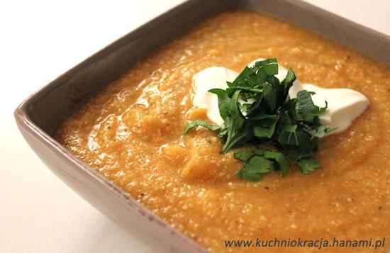 Zupa z czerwonej soczewicy i  soi, Fot. Hanami®