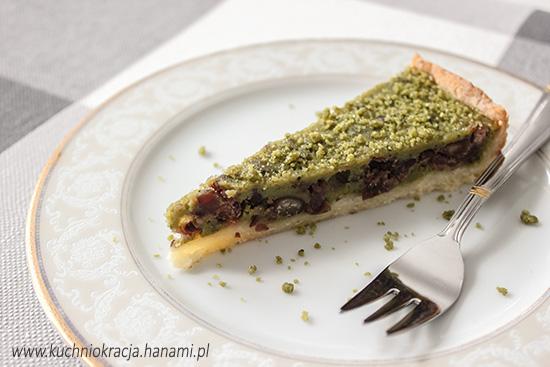 Tarta z zieloną herbatą matcha i tsubu an, Hanami®