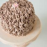 Tort czekoladowy z kremem