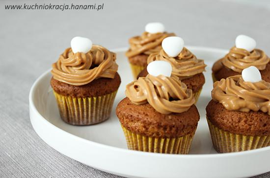 Babeczki kajmakowe, Hanami®