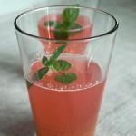 Kompot rabarbarowo-jałkowy