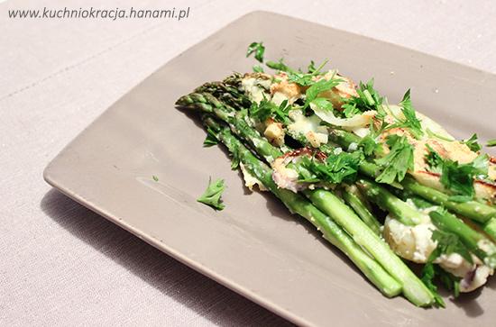 Zapiekanka ziemniaczana ze szparagami, Hanami®