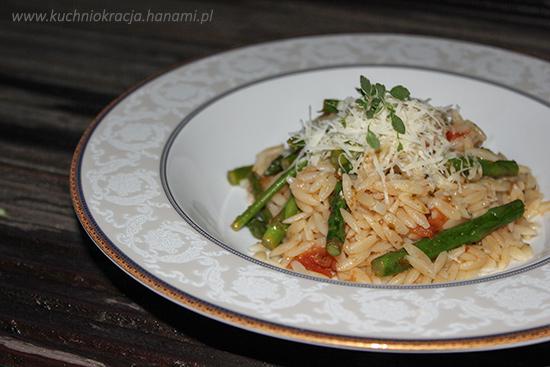 Orzo ze szparagami, Hanami®