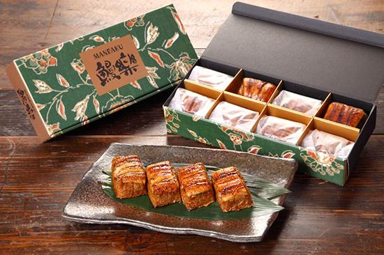 Unagi chimaki firmy  Ōmori Tansui, źródło: http://item.rakuten.co.jp/manraku/10000042/