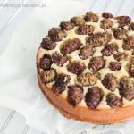 Ciasto bez cukru z morwami