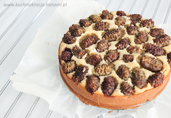 Ciasto bez cukru z morwami, Fot. Hanami®