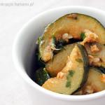 Shlada bal gharaa – sałatka z cukinią (kuchnia marokańska)