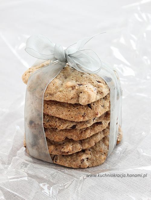 Ciasteczka z czekoladą i orzechami laskowymi, Fot. Hanami®