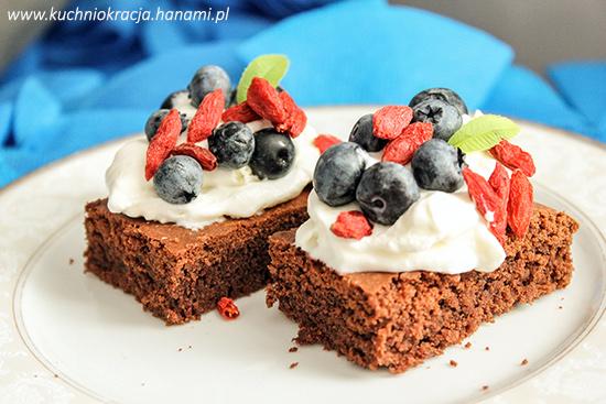 Wielofunkcyjne ciasto czekoladowe, Fot. Hanami®