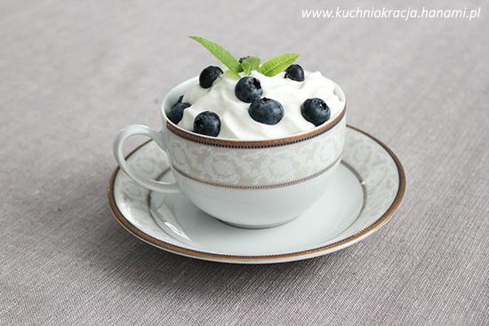 Krem czekoladowy z borówkami amerykańskimi, Fot. Hanami®