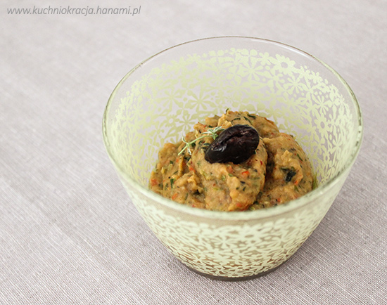 Pasta z bakłażana, cukinii i papryki, Fot. Hanami®