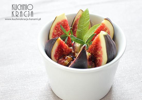 Figi z jogurtem bałkańskim i pistacjami, Fot. Hanami
