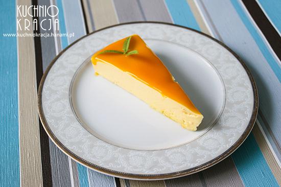 Sernik na zimno z musem z mango, Fot. Hanami®