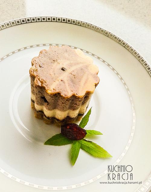 Sernik cynamonowy z czekoladą, Fot. Hanami®
