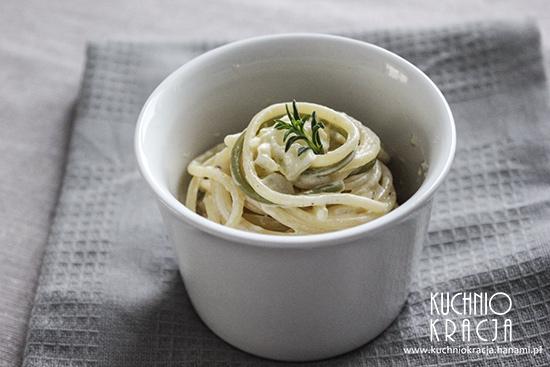 Spaghetti z sosem śmietanowo-serowym, Fot. Hanami®