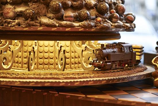 Pociąg z czekoladowej witryny w Fabryce Czekolady E.Wedel, materiały prasowe