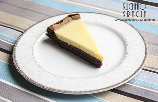 Ciasto czekoladowe z kremem pomarańczowym, Fot. Hanami®