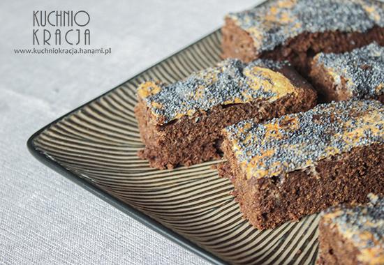 Ciasto czekoladowe z makiem, Fot. Hanami®