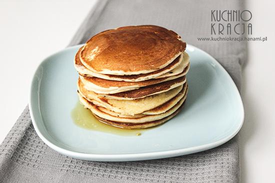 Pancakes z masłem i syropem klonowym, Fot. Hanami®