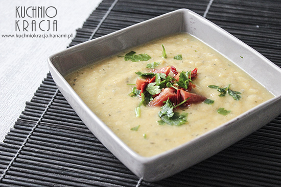 Kremowa zupa kalafiorowo-marchewkowa, Fot. Hanami®