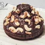 Ciasto czekoladowe z nerkowcami