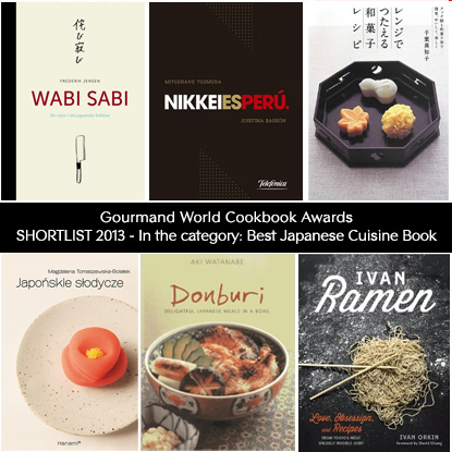 Gourmand World Cookbook Awards, Shortlist 2013 in the category: Best Japanese Cuisine Book