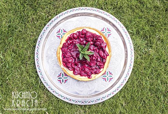 Sernik z przesmażonymi wiśniami, Fot. Hanami®