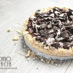 Ciasto z kremem czekoladowym i ciasteczkami Oreo