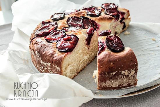 Ciasto drożdżowe ze śliwkami,  Fot. Hanami®