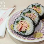 Spotkanie o kuchni japońskiej i sushi kwiat róży