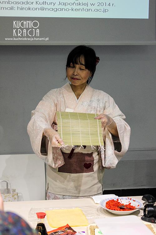 Pani Hiroko Nakazawa w akcji
