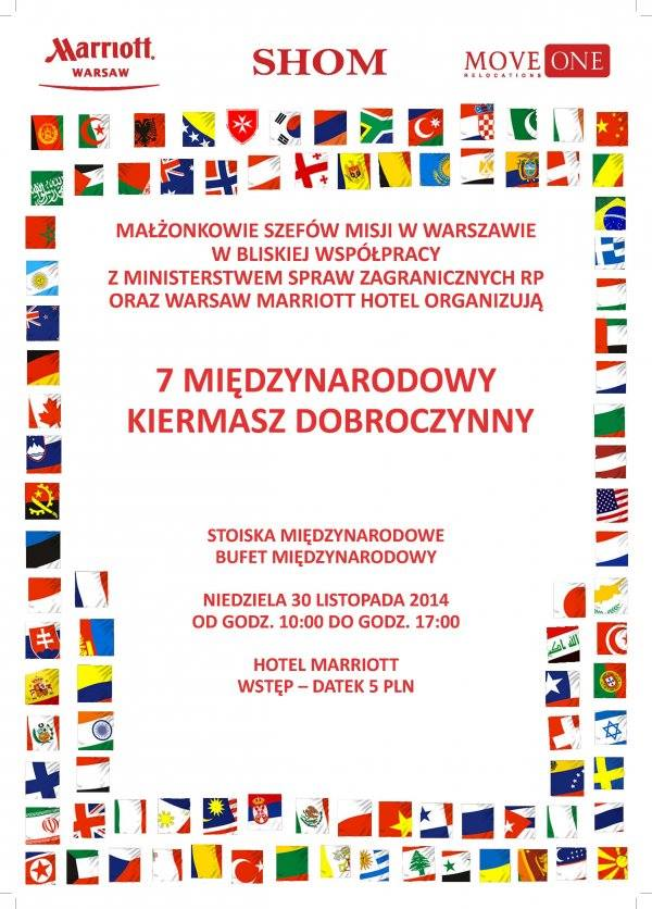7 Międzynarodowy Kiermasz Dobroczynny w Warszawie