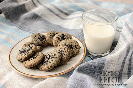 Ciasteczka sezamowe, Fot. Hanami®Ciasteczka sezamowe, Fot. Hanami®