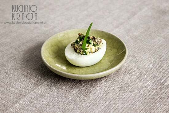 Jajka faszerowane z wołowiną i kolendrą, Fot. Hanami®
