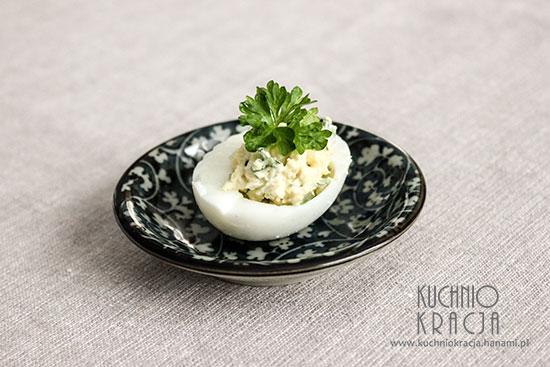 Jajka faszerowane z ziołami,  Fot. Hanami®