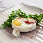 Jajko pieczone z boczkiem i sosem rybnym – Wielkanoc 2015