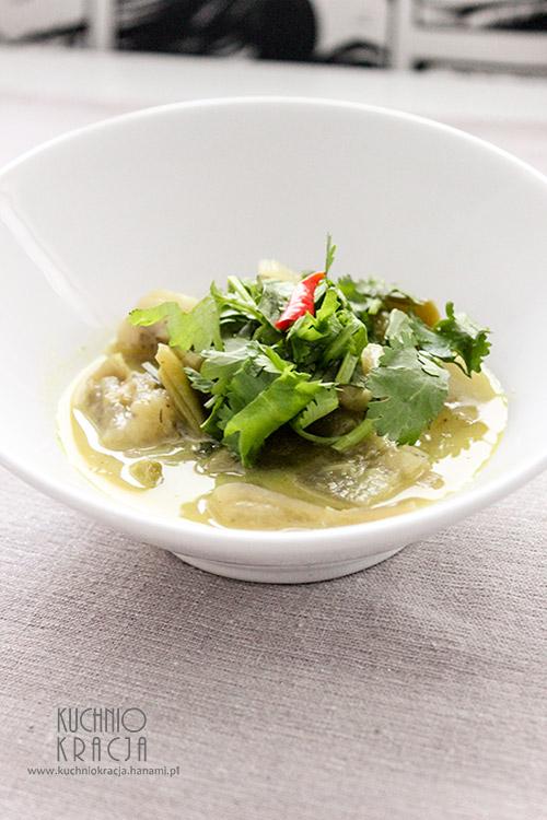 Curry z bakłażanem i fasolą mamut, Fot. Hanami®