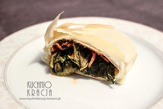 Roladki z ciasta filo z kimchi,  Fot. Hanami®