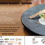 Kuchnia koreańska – spotkanie w Gdańsku
