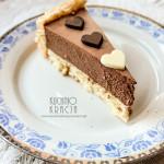 Ciasto biszkoptowe z musem czekoladowym