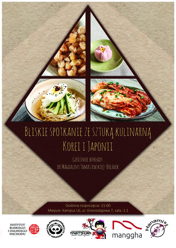 Kuchnia koreańska, kuchnia japońska